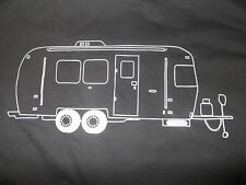 Long Sleeve Vintage AIRSTREAM CAMPER T SHIRT NWT.The trailer life, is good.LS RV