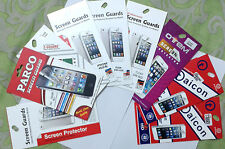Screen Guard for Micromax A311,250,116,110,Samsung 9082,9060,i9600,iPhone4,5,HT