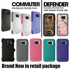 NEW Genuine Otterbox Commuter / Defender Cases for Samsung Galaxy S6