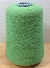 Cones Spool Soft Bright Green Thread Weaving Loom Knitting Yarn Cotton 1lbs +
