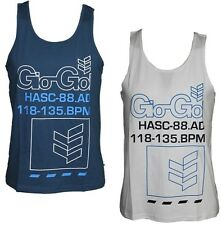 MENS VEST GIO-GOI BODY TANK TOP DESIGNER NAVY WHITE ALL SIZES S TO XL RRP £19.99