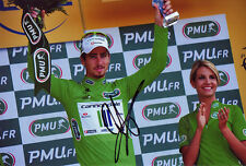 Peter Sagan Autographed Signed 8X12 inches 2013 Tour de France Liguigas Photo