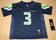 NFL TODDLER Seattle Seahawks Russell Wilson #3 Toddler Jersey - Navy Blue