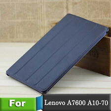 """Slim PU Leather case Cover Skin For 10.1"""" Lenovo IdeaTab A10-70 A7600 Tablet PC"""