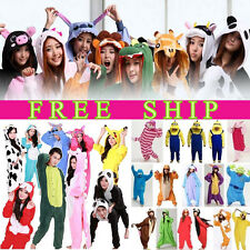 Adult Unisex Onesie Animal Onsie Pajamas Sleepwear Kigurumi All in One Costume