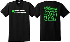 MOTOCROSS REQUIRES BALLS T SHIRT JUST RIDE NAME NUMBER MOTO MX YZF KXF KTM YZ CR