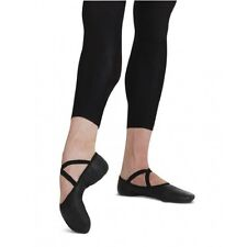 NIB Capezio Romeo Leather Ballet Shoes  Black (2020) Sizes 13-13.5 M & W width