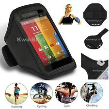 SPORTS RUNNING GYM JOGGING CYCLE ARMBAND CASE COVER FOR SAMSUNG GALAXY S5