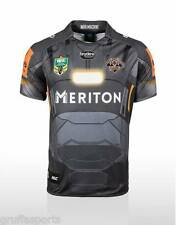 Wests Tigers 2015 Marvel War Machine Jersey Sizes S - 3XL Adults NRL New ISC