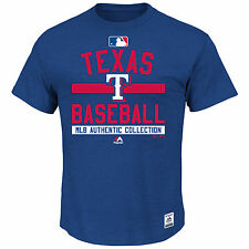 Texas Rangers Authentic Collection Team Property Heathered T-Shirt