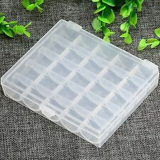 2 Styles Plastic Sewing Machine Bobbins Spool Case Box for Janome Brother Singer