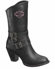 Harley-Davidson Women's Riding Boots Maddison Pink Label D87024