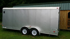 HAULMARK 6X18 ENCLOSED TRAILER SET UP FOR MODEL AIRPLANES