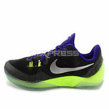 Nike Zoom Kobe Venomenon 5 EP [815757-005] Basketball Black/Silver-Purple-Volt