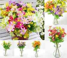 Artificial Fake Colorful Silk Daisy Flower Bouquet Home Party Decoration1 Bunch