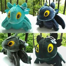 HOW TO TRAIN YOUR DRAGON 2 Toothless Night Fury Soft Stuffed Plush Toy Doll 8""