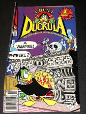 COUNT DUCKULA #1  FIRST QUACK-POT ISSUE