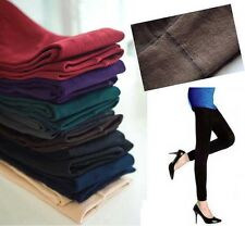 Womens Warm Winter Skinny Slim Leggings Thick Footless Stretch Pants Stockings