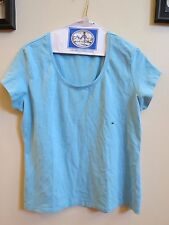 Women's The Limited Stretch Blue Knit Top - New with Tags- Size XL