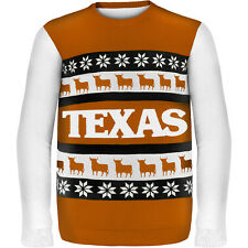Forever Collectibles Men's Texas Longhorns One Too Many Ugly Sweater