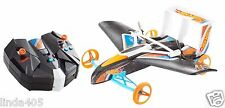 HOT WHEELS RC STREET HAWK REMOTE CONTROL FLYING CAR BLUE & ORANGE FLY OVER 200'