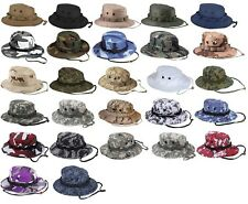 Military Police Army Navy Tactical Wide Brim Bucket Bush Hunting Boonie Hat