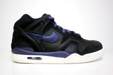 Nike Air Tech Challenge II 318408-001 Black Navy Andre Agassi sp open