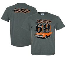 1969 Dodge Charger RT T-shirt - Vintage Style - Pre-Shrunk Soft Style Shirt
