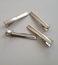 New! 5 10 20 pcs Silver Tone Hair Clip Prong Teeth Bow Alligator Clips #3H Craft