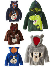 Kids Boys Animal Zip Jackets Hoodies Cosplay Coats Costume Party Snowsuits 1-6 Y