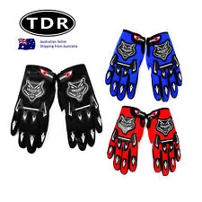Adult Mens Womens MX MOTOCROSS MOTORBIKE RACING GLOVES BMX/ATV/QUAD/DIRT BIKE