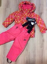 Thinsulate Girls 2 Piece Ski Suit Age 2 3 4 5 6 7 Years Jacket Salopettes Snow