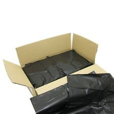 BLACK EXTRA HEAVY DUTY REFUSE BAGS SACKS BIN LINERS RUBBISH BAG UK 180G QUALITY