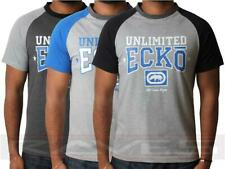 New Mens Ecko Unltd T-shirt Short Sleeve Top Sport Graphic Summer CUSTOM