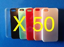 50 X Apple IPhone 5/s Quality coloured cases - Wholesale, Joblot, Bulk,