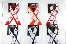 womens pony tail holder ribbon ladies MLB officially licensed
