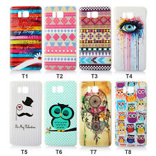 New Fashional Pattern Soft Phone Cover Case for Samsung Galaxy Alpha G850 G850F
