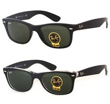 Ray Ban RB 2132 901 Black or 6052 Black Transparent G-15 Lens Sunglasses 52mm