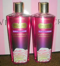 2 Victoria's Secret Classics Enchanted Apple Body Wash Shower Gel 8.4oz Rare