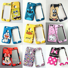 Cute cartoon bow cat bear mickey stitch fullbody case cover for iphone 7 6S plus