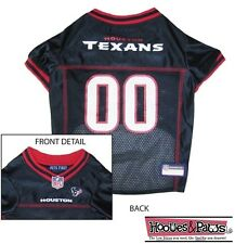 HOUSTON TEXANS Dog Jersey NFL Officially Licensed Football Pet Product Gear