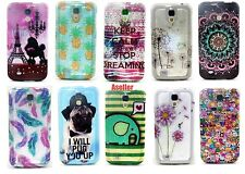For Samsung Galaxy S4 I9500 I9505 Bling Glitter Soft TPU Silicone Gel Case Cover