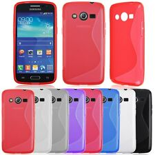 Premium Gel Silicone Rubber TPU Soft Case Cover S Line Skin for Samsung Galaxy