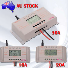 LCD 10/20/30A MPPT Solar Panel Battery Regulator Charge Controller 12V/24V FB