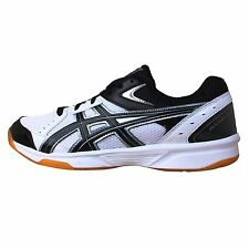 Asics Rivre CS White Black Gum Mens Volleyball Badminton Shoes TVRA03-0190