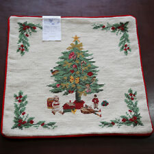 "T103 Hand Stitched Needlepoint 14"" Wool Cushion Pillow Cover"