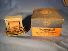 Vintage THORDARSON 21F08 FILAMENT TRANSFORMER NOS in Original Box (FAST SHIP!)