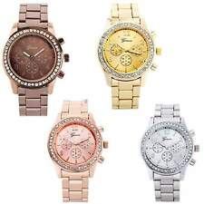 Fashion Ladies Women Girl Stainless Steel Analog Quartz Wrist Watch NEW