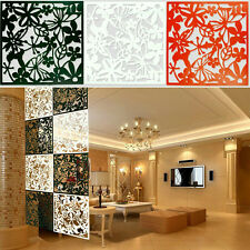 10X Plastic Hanging Screen Partition Room Divider Butterfly Flower Wall Sticker
