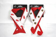 womens pony tail holder ribbon ladies NHL officially licensed